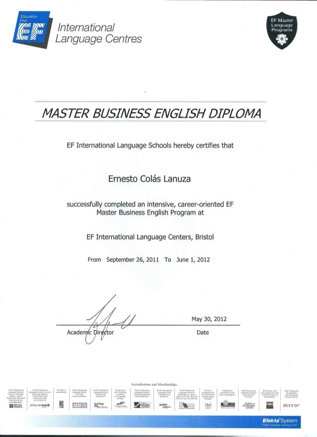 how to get a masters in business