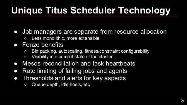 Netflix and Containers - Titus