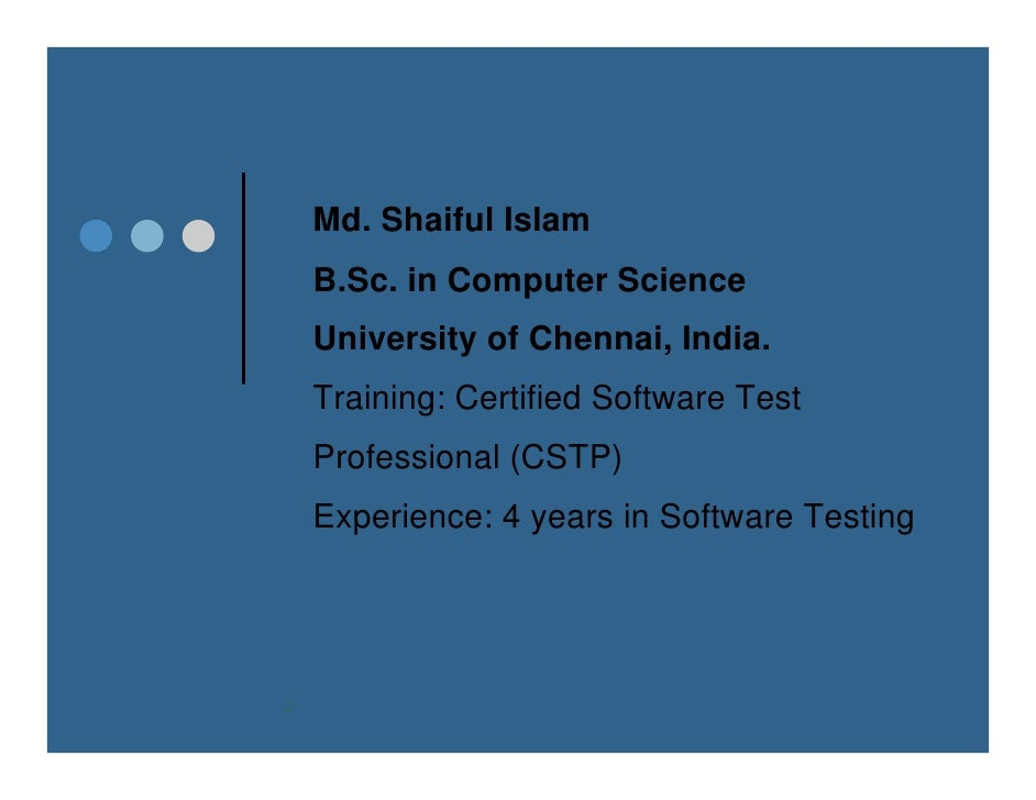 SLC Process for Software Development & Quality Control Slide 2