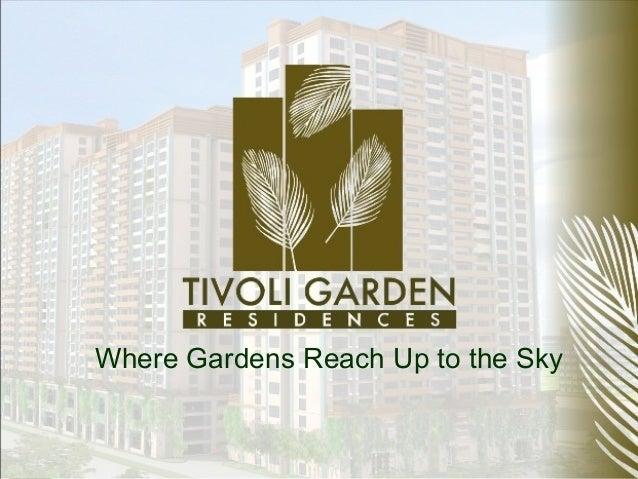 Where Gardens Reach Up to the Sky