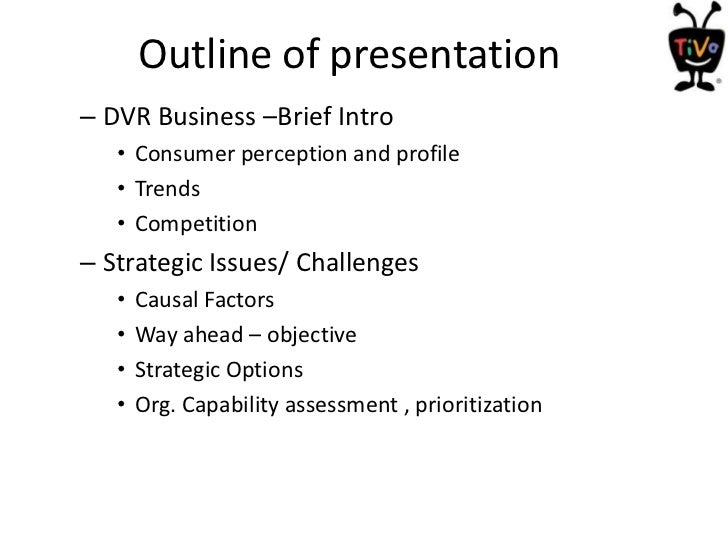 strategic inflection tivo in 2003 Case suggestions the following table chapter 6: defining the organization's strategic direction strategic inflection: tivo in 2003 or digital angel.