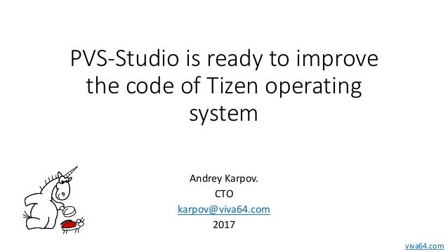 PVS-Studio is ready to improve the code of Tizen operating