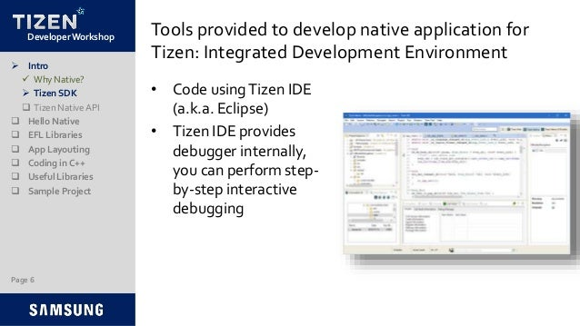 Tizen Native Application Development with C/C++
