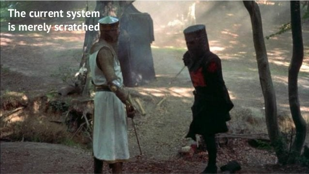 7 7 The current system is merely scratched
