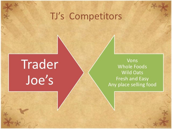 marketing analysis trader joe coulombe 1967 the first trader joe's opened its doors in pasadena, california still there today - same spot, same parking lot if you were into wine - especially california wines - trader joe's was the place to go still is but back in the late 1960s, we sold every california wine there was.
