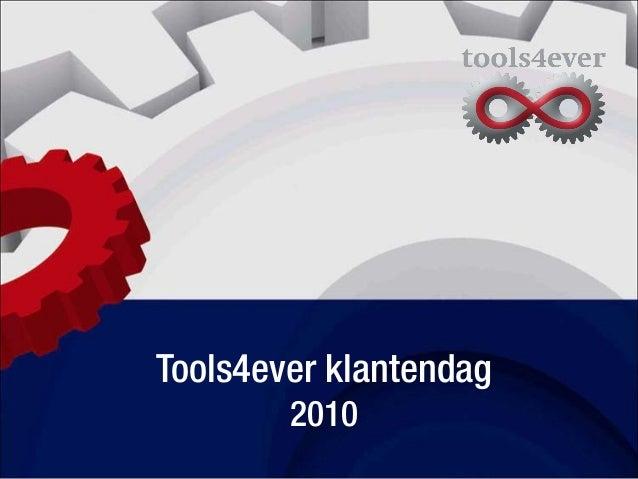 Tools4ever klantendag 2010