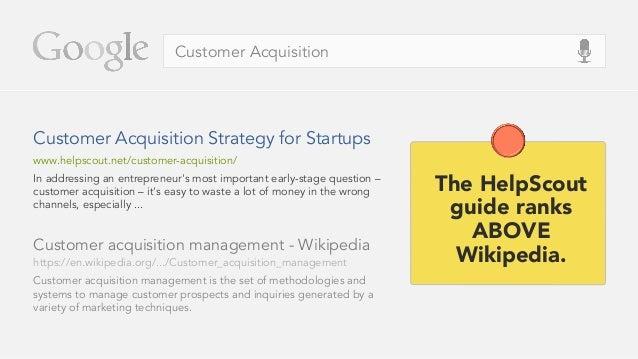 Customer Acquisition Customer acquisition management - Wikipedia Customer acquisition management is the set of methodologi...