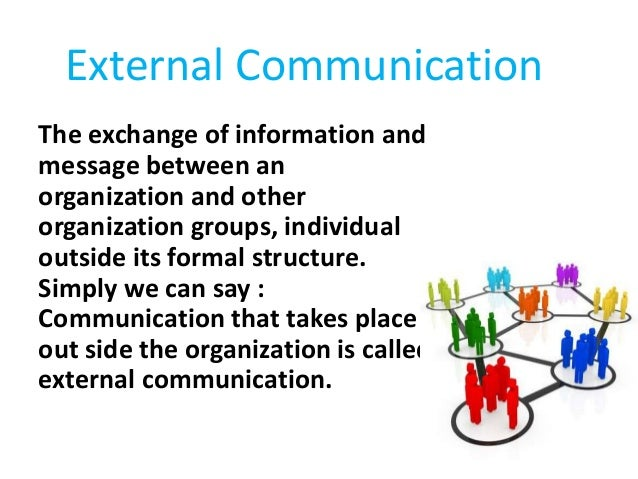 external communication