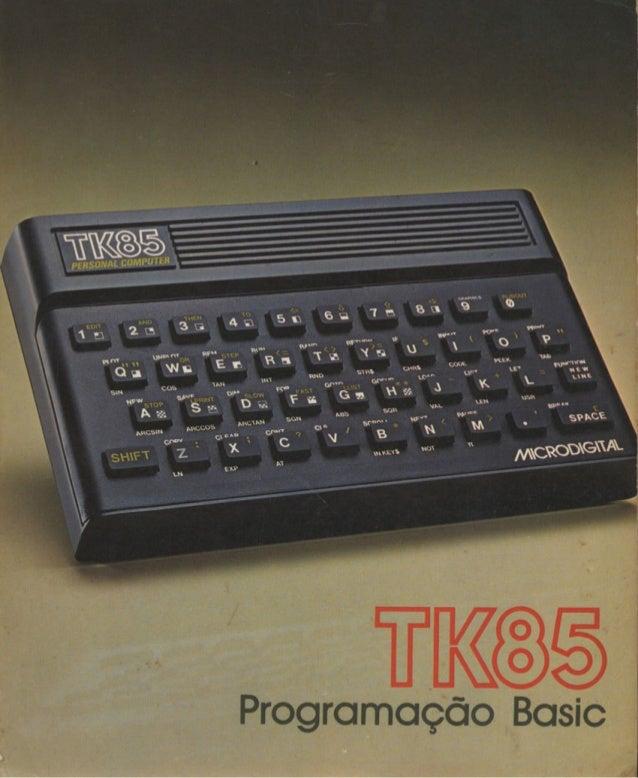 TK85 - Programação Basic