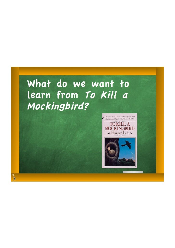 Tkam essential questions