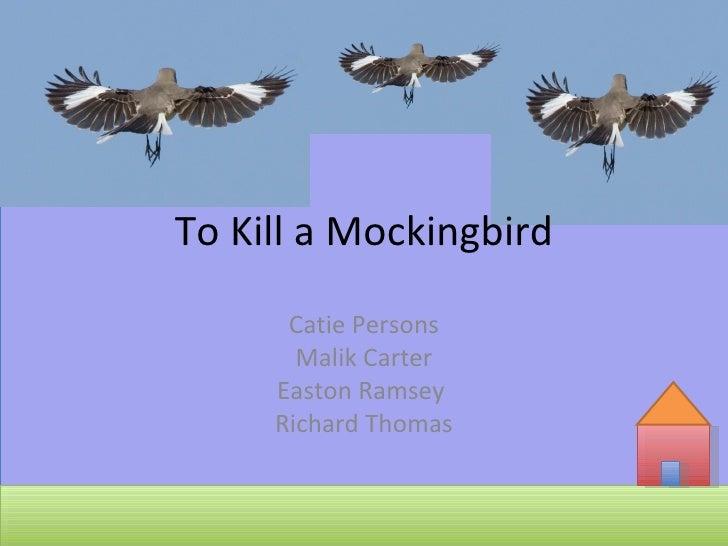 Catie Persons Malik Carter Easton Ramsey  Richard Thomas To Kill a Mockingbird