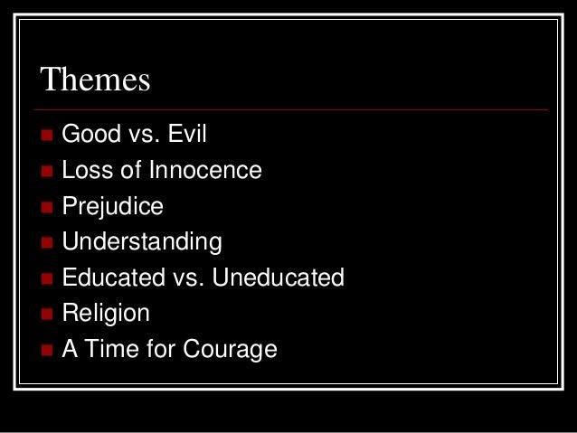 main themes to kill a mockingbird