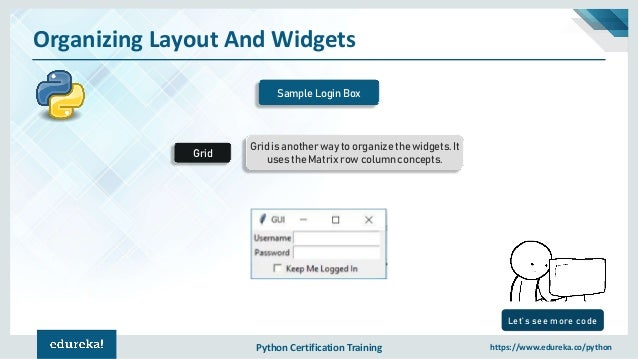 Tkinter Python Tutorial | Python GUI Programming Using Tkinter Tutori…