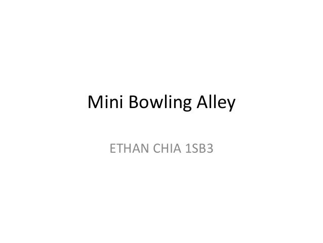 Mini Bowling Alley