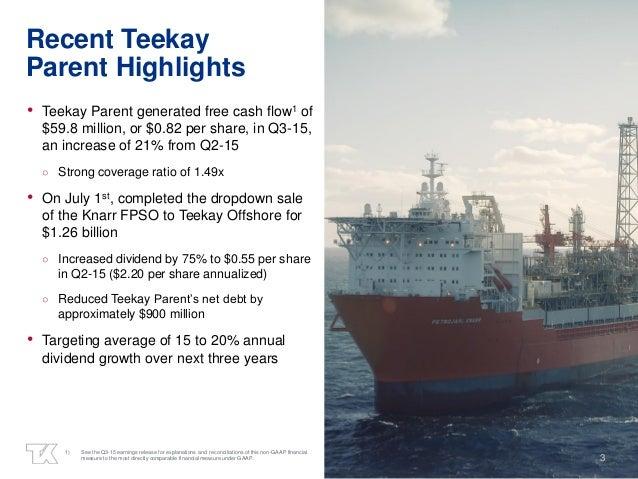 Teekay Corporation Q3-2015 Earnings Presentation Slide 3