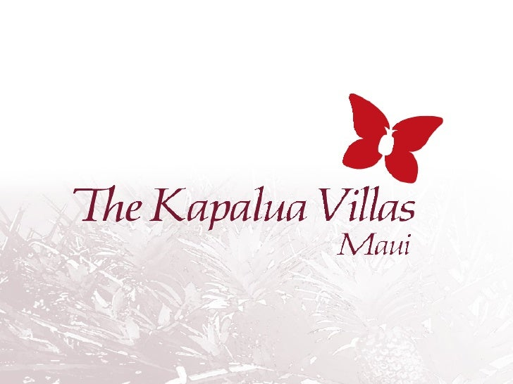 Kapalua Resort  Located on the north-west side of Maui Only A 10 minute drive from Ka'anapali  A 15 minute drive from Laha...