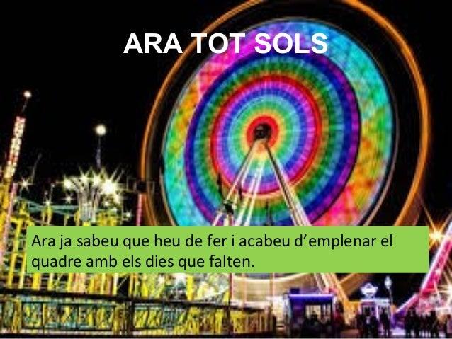CRÈDITS • Imatge:Picassa. • Presentació: Beatriu Palau • www.lecturaiaprenentatge.blogspot.com
