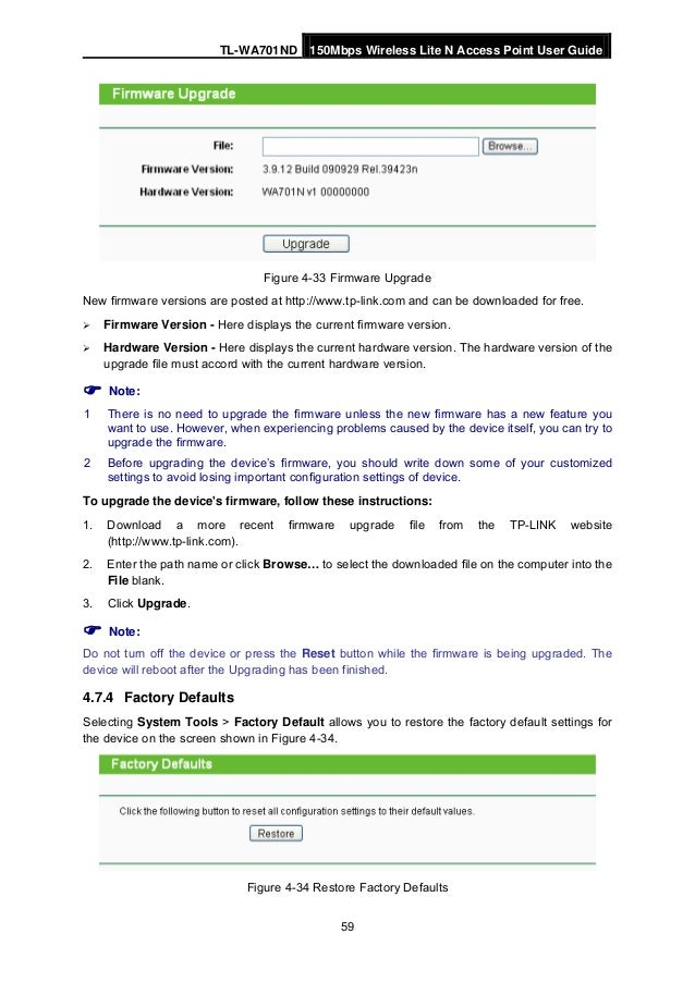 Tl wa701 nd user guide