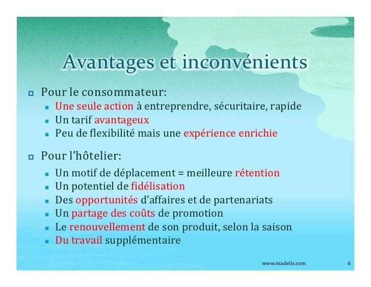 Avantages et inconvénients p   Pour le consommateur:     n   Une seule action à entreprendre, sécuritaire, rapide     n   ...