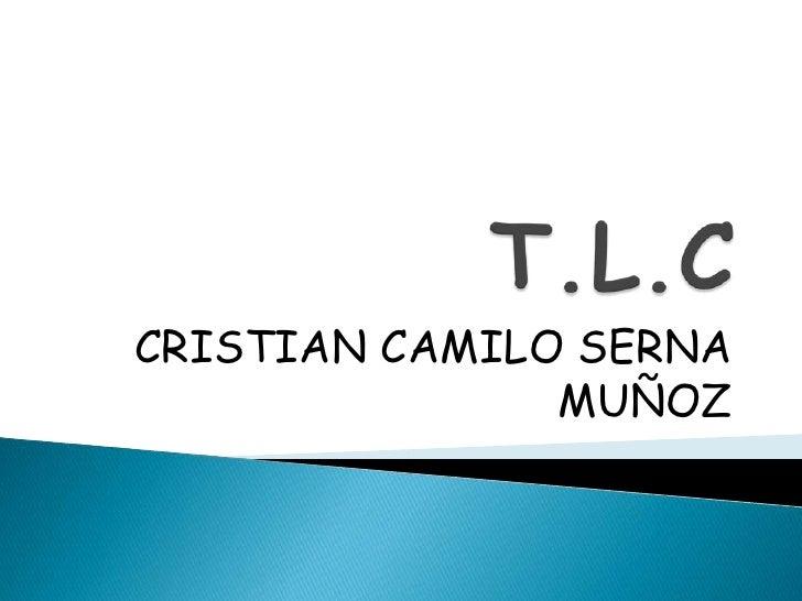 CRISTIAN CAMILO SERNA                MUÑOZ