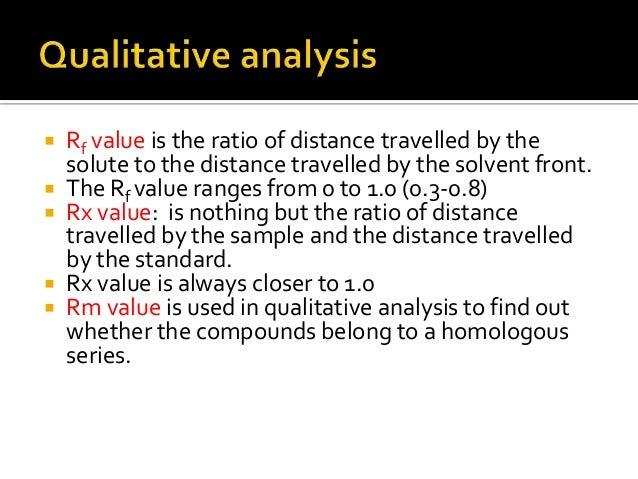An analysis of a homologous series