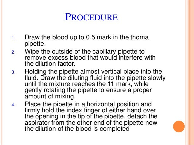 DEFINITION The relative percentage of each type of white blood cells in peripheral blood. This experiment is a part of blo...