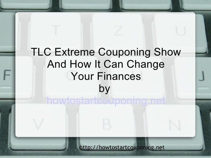 Extreme coupons show tlc