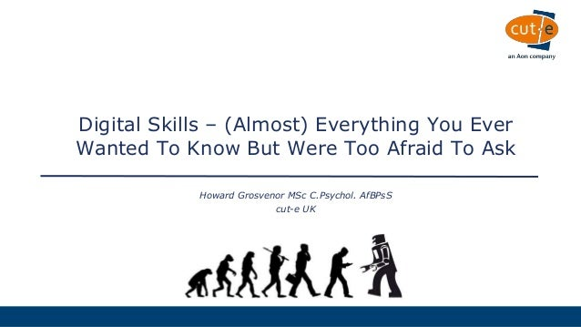 Digital Skills – (Almost) Everything You Ever Wanted To ...