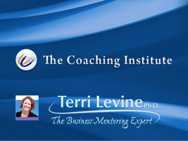 Coaching is a Booming Business • 52% of North American companies are working with coaches! • Life coaching is booming • Nu...
