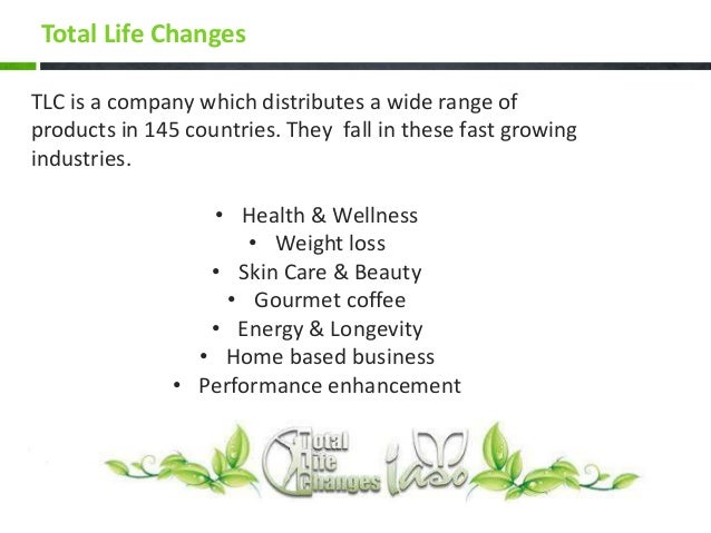 TOTAL LIFE CHANGES- Get healthy, get wealthy
