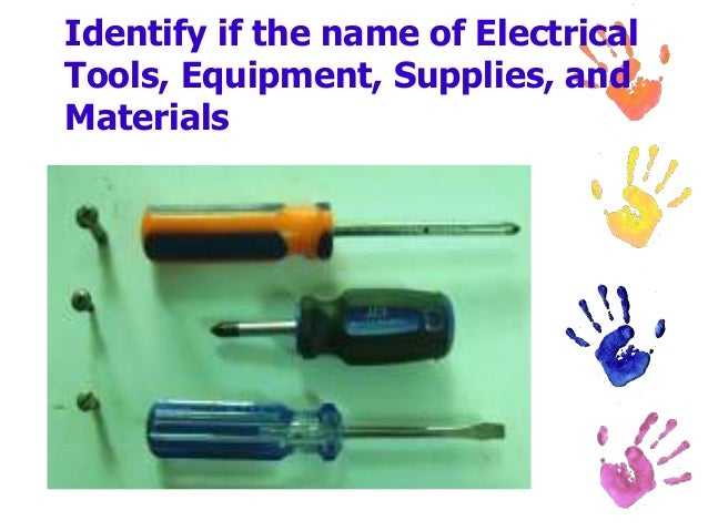 Electrical Tools Equipment Supplies And Materials 2