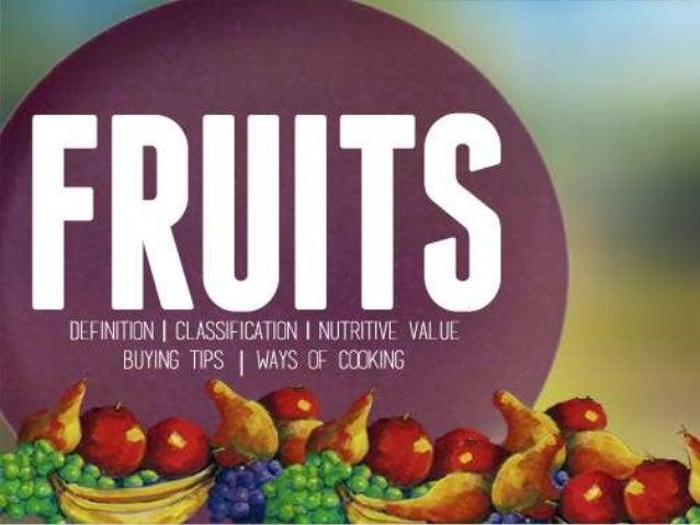 FRUITS EVERYTHING FRUITS