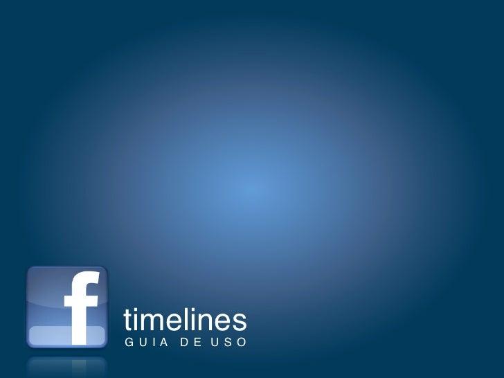 timelinesGUIA DE USO