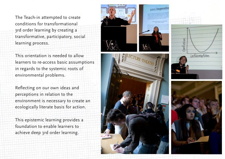 The Teach-in was informed by Mezirow's '10 Phases of TL'The phases of TL can be modified to inform a learning process for ...