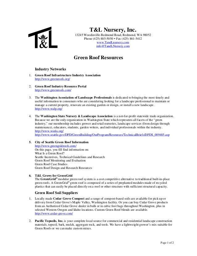 T&L Nursery, Inc.                                     13245 Woodinville-Redmond Road, Redmond, WA 98052                   ...