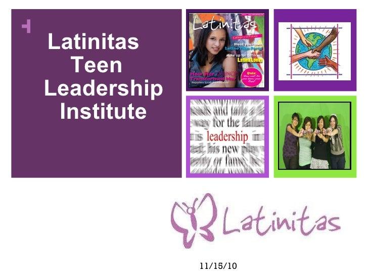 Latinitas  Teen Leadership Institute