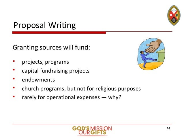 Stewardship Toolkit Grant and Proposalwriting Slide Deck – Writing a Fundraising Proposal