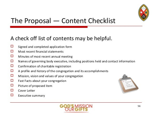Step-by-step guidelines to submitting a proposal