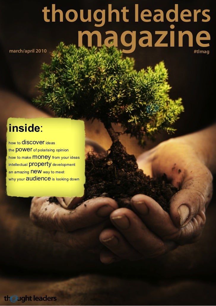 thought leadersmarch/april 2010                                    magazine                                           #tlm...