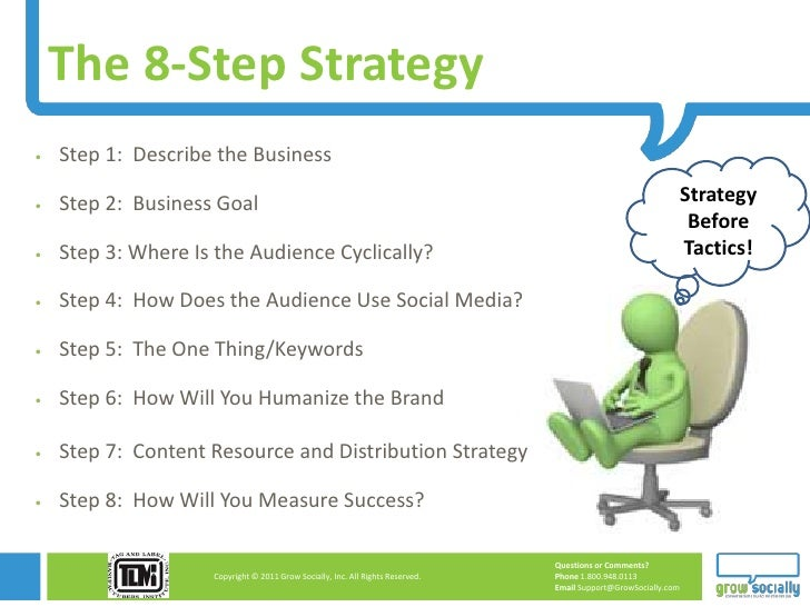 The 8-Step Strategy   Step 1: Describe the Business   Step 2: Business Goal                                             ...