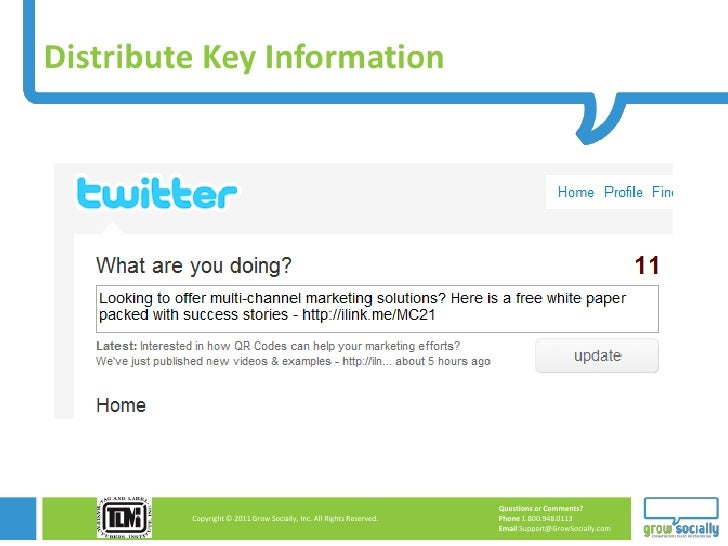 Distribute Key Information                                                                     Questions or Comments?     ...
