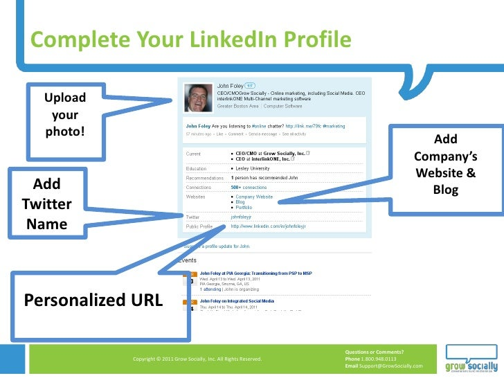 Complete Your LinkedIn Profile   Upload    your   photo!                                                                  ...