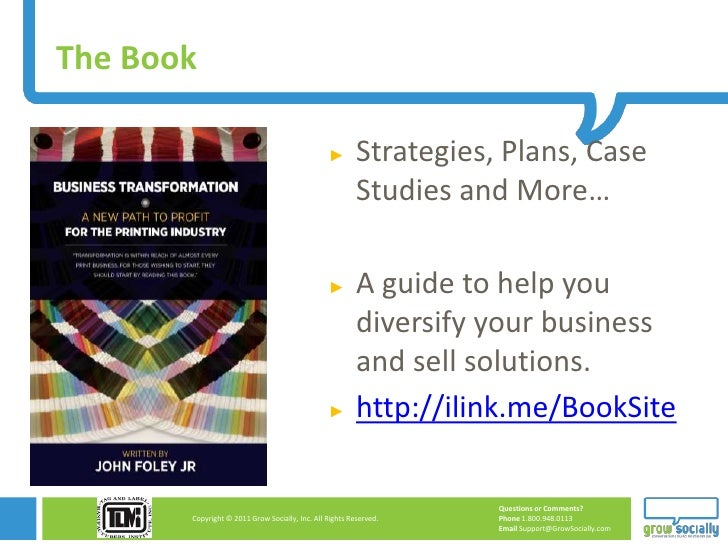 The Book                                                ►        Strategies, Plans, Case                                  ...