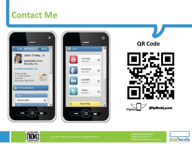 Contact Me                                                                         QR Code                                ...