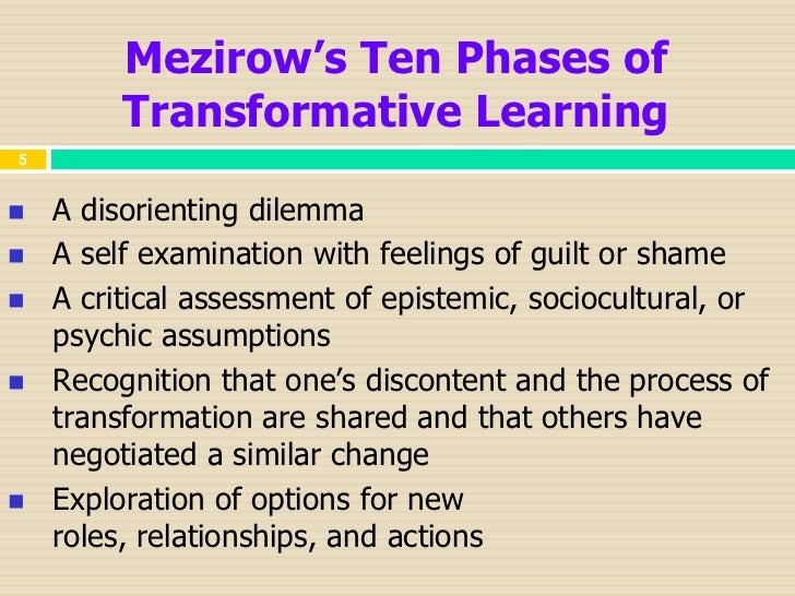 the four stages of the transformational Transformational change the four stages of the transformational learning process are identifying the problem, confronting the problem, finding a solution, and integration of knowledge the first stage is called confronting the problem this is a big integral part to any problem one may be facing in their lives.