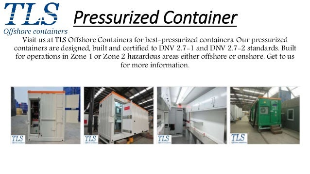 Tls Containers Com Pressurized Container