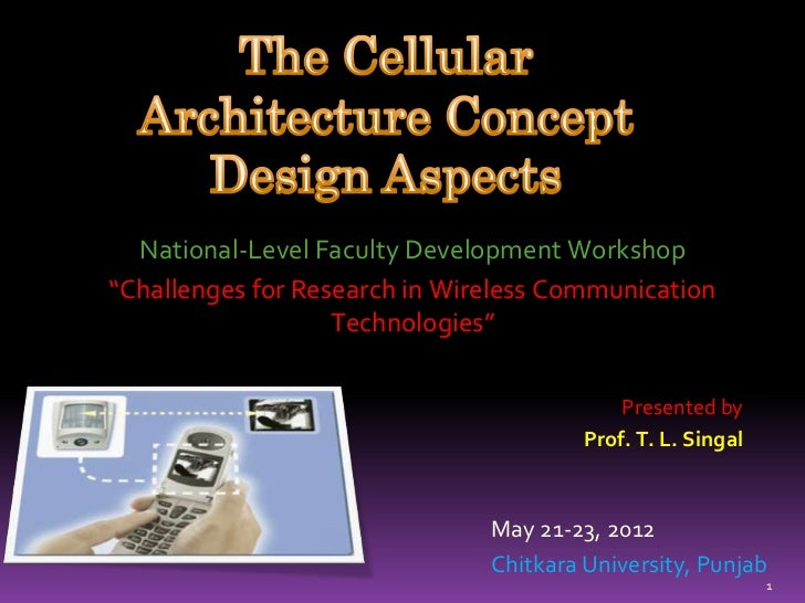 """National-Level Faculty Development Workshop""""Challenges for Research in Wireless Communication                   Technologi..."""