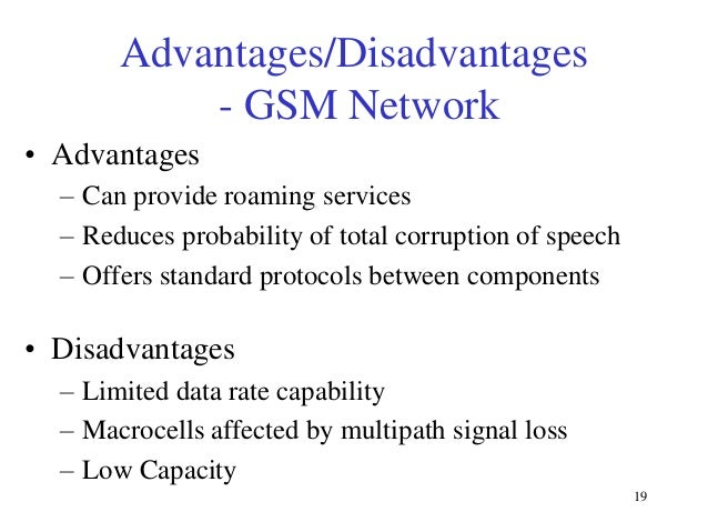 advantages and disadvantages of gprs What are the disadvantages and advantages for a delivery firm to use gps tracking devices.
