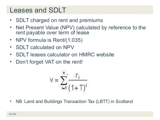 Lbtt Commercial Property Calculator