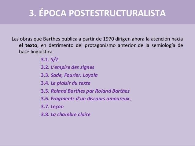 Formalismo franc s estructuralista la nouvelle critique - Barthes la chambre claire ...